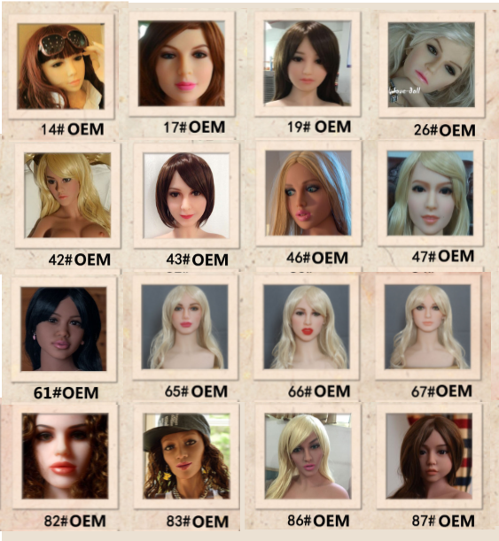 WM Doll OEM Faces